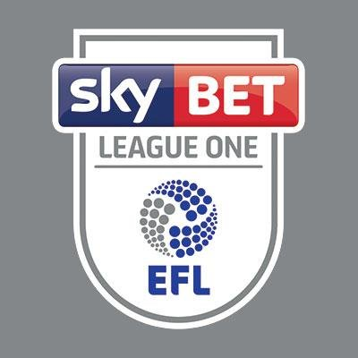 Sky Bet League One EFL shield grey background