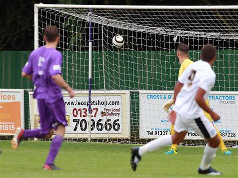 Posh v Daventry - Maunsell Cup 8 - Jonny Edwards 25-yard opener 2