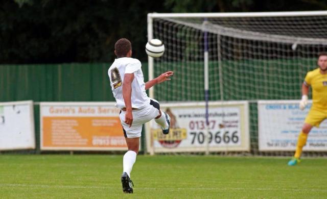 Wonder strike by Jonny Edwards opens scoring v Daventry