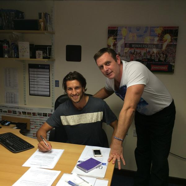 Christian Burgess with Darragh MacAnthony signs a four-year contract - 19-08-2014