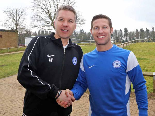 David Norris and Darren Ferguson