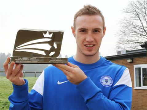 Marcus Maddison - Football League Young Player fo the Month - October 2014