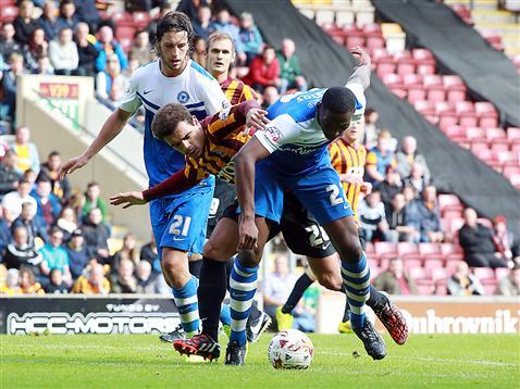 Ricardo Santos and Christian Burgess v Bradford