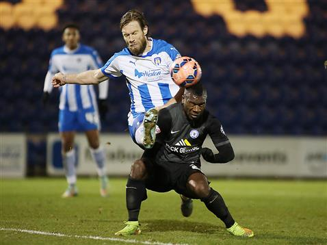 Aaron McLean v Colchester 2