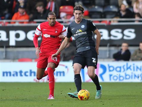 Christian Burgess v Shaun Batt of Leyton Orient