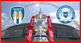 Colchester v Posh - FA Cup