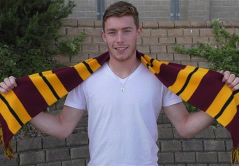 Luke James signs season loan at Bradford City