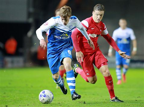 Luke James v Leyton Orient