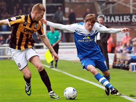 Luke James v Port Vale