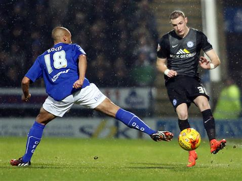 Marcus Maddison chips in goal number two v Chesterfield