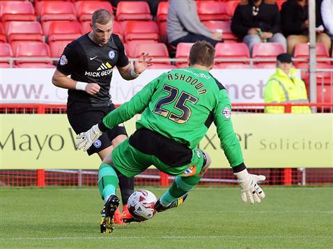 Marcus Maddison scores goal three v Crawley