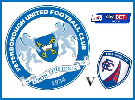 Posh v Chesterfield - League One