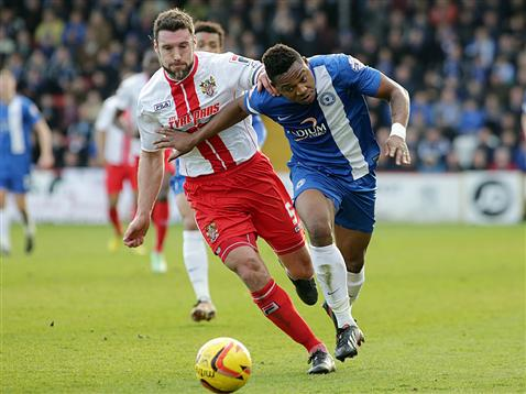 Britt Assombalonga v Stevenage