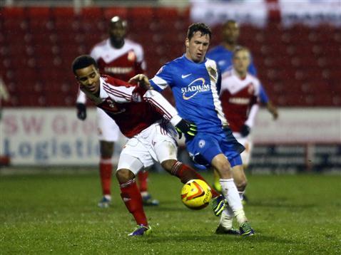 Danny Swanson v Swindon