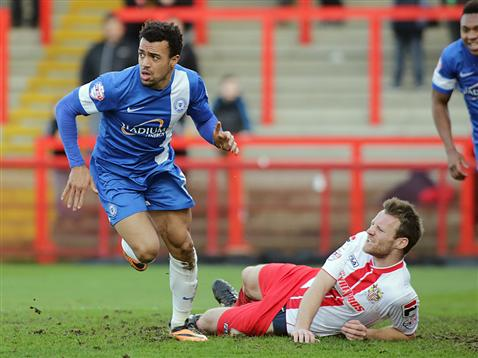 Nicky Ajose v Stevenage 2