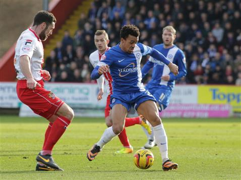 Nicky Ajose v Stevenage