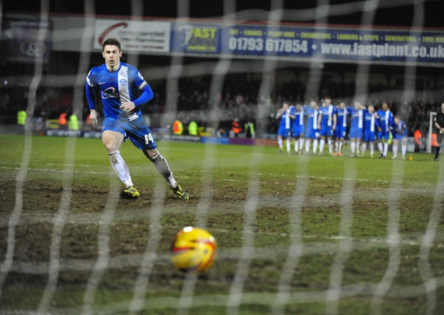 Tommy Rowe penalty crosses the line