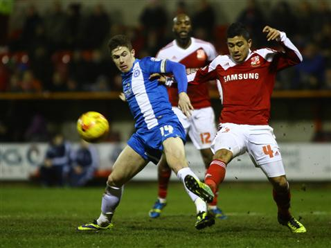 Tommy Rowe v Swindon