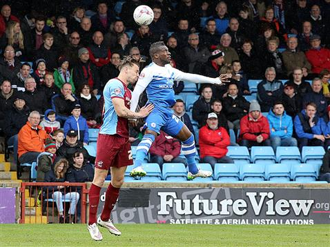 Aaron McLean v Scunthorpe