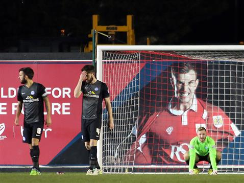 Ben Alnwick concedes again v Bristol City