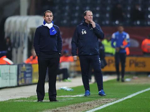 Dave Robertson and Prestons Simon Grayson