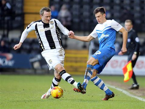 Joe Newell v Notts County 2