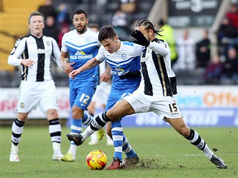 Joe Newell v Notts County