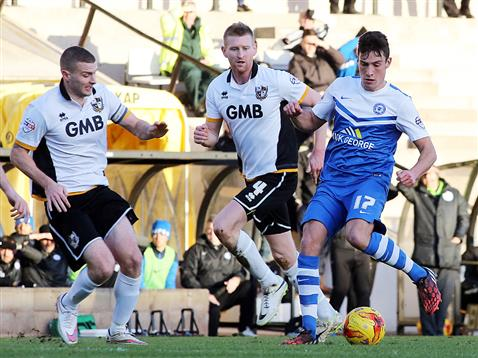 Joe Newell v Port Vale 3