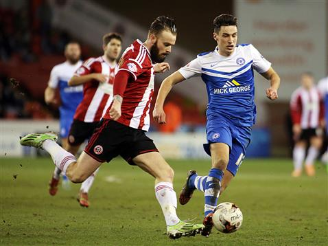 Joe Newell v Sheffield United 3