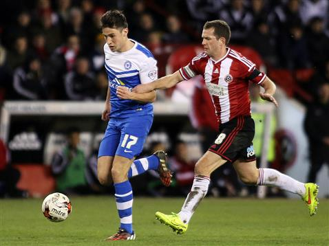 Joe Newell v Sheffield United