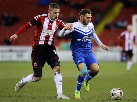 Jon Taylor v Sheffield United