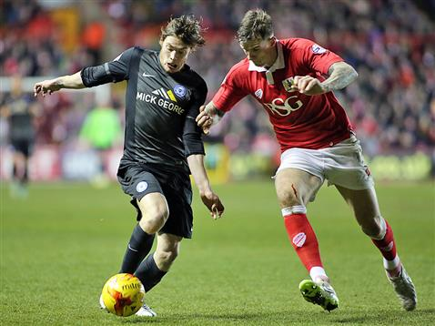 Luke James v Bristol City 3