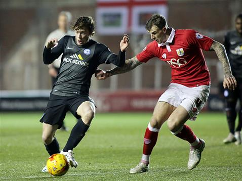 Luke James v Bristol City