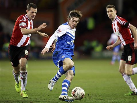 Luke James v Sheffield United