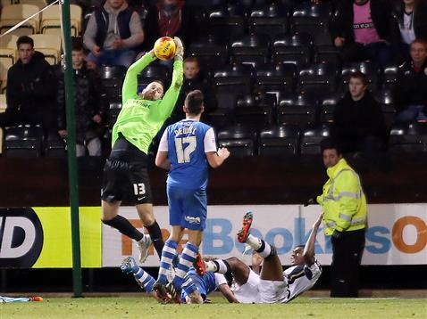 Scott Loach v Notts County
