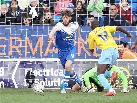 Shaun Brisley v Coventry 2