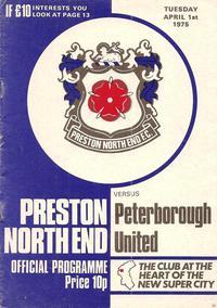 2975-04-01 Preston v Posh programme