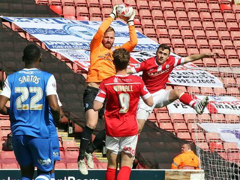 Ben Alnwick and Ricardo Santos v Barnsley