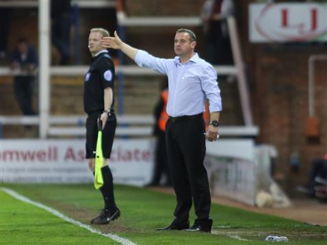 Dave Robertson v Crewe