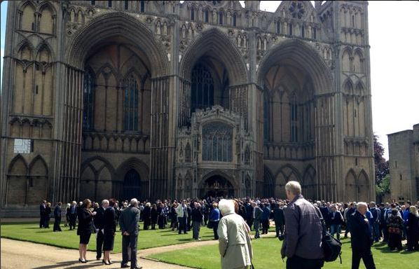 Huge turnout for Chris Turners funeral