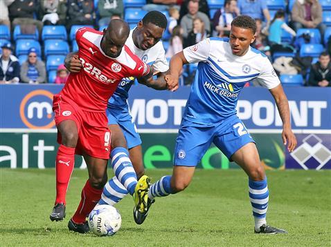 Ricardo Santos and Jonny Edwards v Crawley