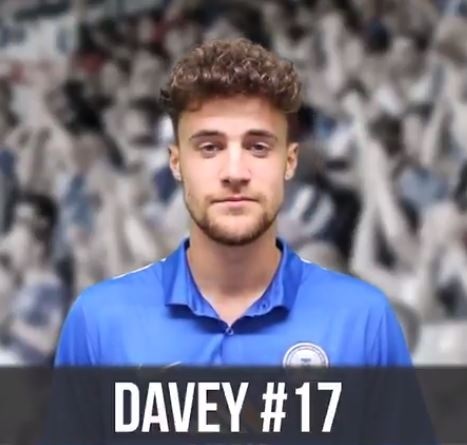 Alex Davey signed on loan from Chelsea