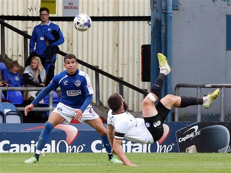 Michael Bostwick overhead kick v Oldham