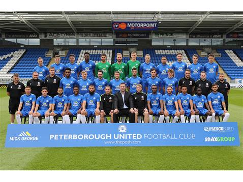 Official Peterborough United squad photo 2015-16