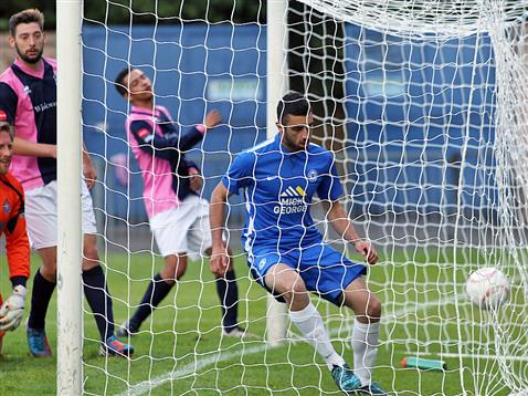 Joe Gormley nets three minutes into his Posh debut v Dulwich Hamlet