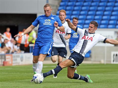 Marcus Maddison v Tottenham Hotspur XI