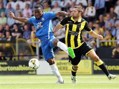 Souleymane Coulibaly v Burton