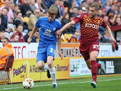 Chris Forrester v Bradford 2