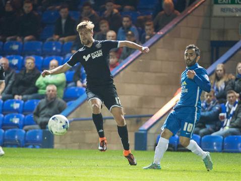 Erhun Oztumer loses his man again v Wigan