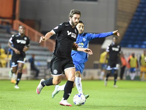 Erhun Oztumer loses his man yet again v Wigan